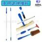 厂家批发多用途铝合金伸缩杆玻璃清洁工具杆加长杆可选1.2-4.5米
